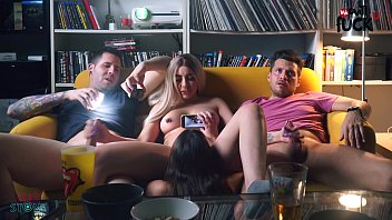 swingers swaped girlfriends while ponograpy watching soccer in spain