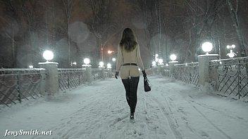 jeny smith naked in xixamcom phim snow fall walking through the city