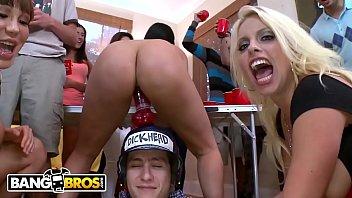 bangbros - curvy pornstars crash dorm room shindig and fuck the latest porn movies frat boys