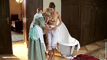 judit juliette and jessica have a bath and seduce txx com each other on sapphic erotica
