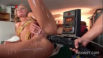 wet slut slurps hot piss out of horny moms bang boys com cock with a sex toy