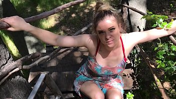 stepmom helps stepson cum xxxdf in his treehouse - erin electra