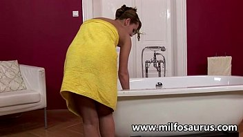 horny sexvide milf gets fucked by 2 mofos