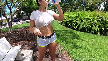 nude hijra photo busty fitness babe in wet t-shirt out public