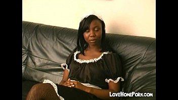 black maid www xxvideocom gets hard spanked
