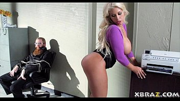 blue film english sexy huge tits blonde office bitch fucked during a bank robbery