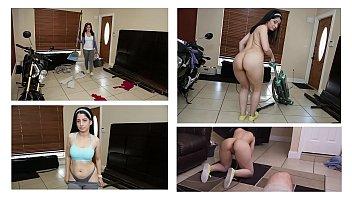 bangbros - curvy latin maid nadia ali givin up dat azz men pressing women boobs for jmac