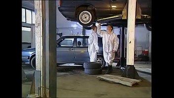 high class woman screwed by indian gilma mechanics in garage