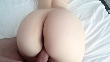 white girl with sexxx big ass in red panties and pantyhose gets fucked