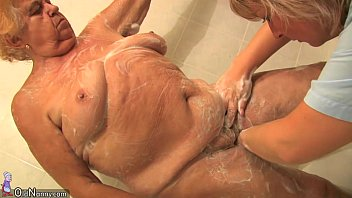 oldnanny old chubby different types of chut lady granny sucking dick and masturbation