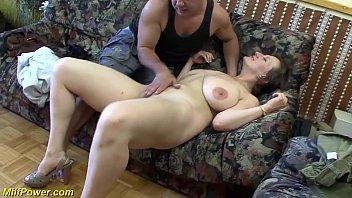 busty german milf xxx vidoes com enjoys a big dick in her ass