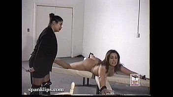 blonde and brunette punished by xxxphoto the belt
