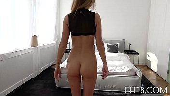 fit18 - ella hughes car tips and tricks mary - 47kg - 171cm - skinny russian model