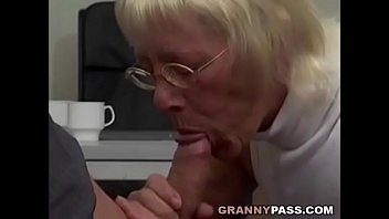 sex xxx bf granny takes huge cock in office