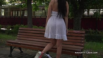 sex vefio transparent dress in public