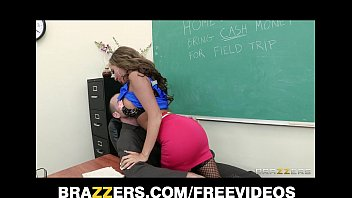 slutty school teacher boobs play richelle ryan fucks the school janitor