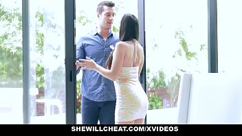 very sexy video shewillcheat - hot wife devours trainers cock