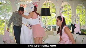 familystrokes - cute teen avi love fucked by sexy vedios easter bunny stepuncle