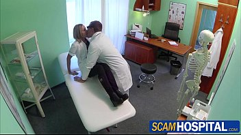 sexy blonde nurse nancy gets all saxy video to grip a cock with her pussy lips