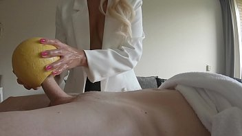 melon xxxnxvideos cock milking at the dick spa