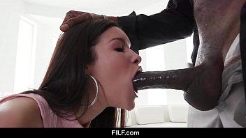 filf - eden sin is obsessed by her stepdad s huge pornotanke black dick