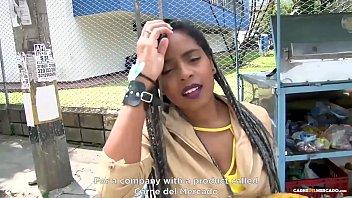 mamacitaz - ana ebano - ebony babe picked up for avheat hard pussy drilling