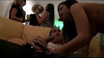 two tight amateur college xnxnxx girls fucked in wild home party