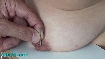 extreme girl ki choot needle torment bdsm and electrosex. nails and needles t.