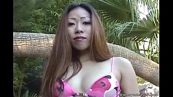 my asian sexcy girls wife suck me near the pool