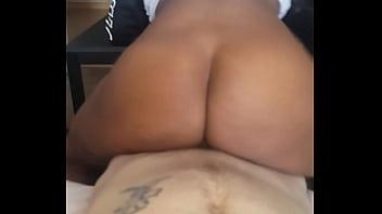 sex fuck big booty ebony bouncing on white dick