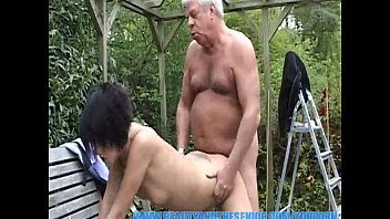 youporn - old gray senior is banging a english sex hot young chick