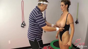 eva notty sexvedio in training