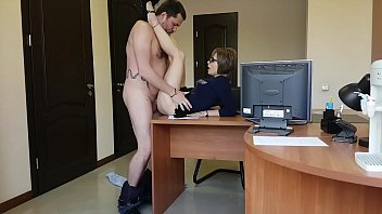 the boss fucks her xxxsex in young milf secretary on the office table