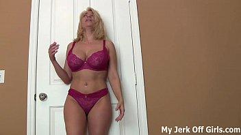 stroke your cock boy sucking boobs for my big dd titties joi