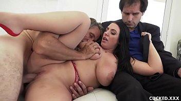 big tit milf cuckolds pathetic hubby by fucking www sex vidyo her photographer