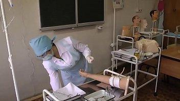 nurse dhakawap in the treatment room