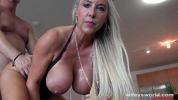 beautiful girl nude wifey swallows a strangers cum