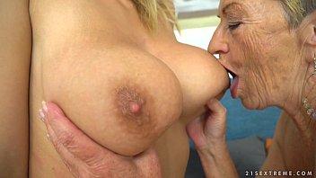 busty granny and pornhublive her y. lesbian friend - malya aida swinger