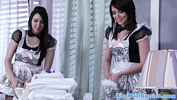 squirting blackhaired maids xxx 89 sharing a cock