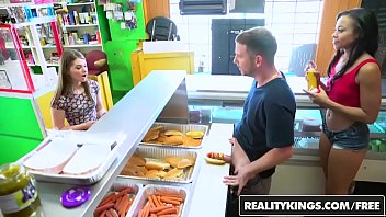 realitykings - money talks prno - adrian maya and alice march - hot dog stand