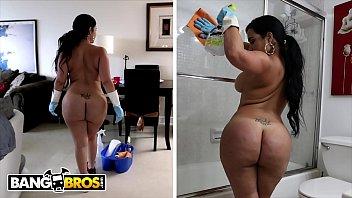 bangbros - my dirty maid destiny slams her cuban big ass on thief69 com my cock