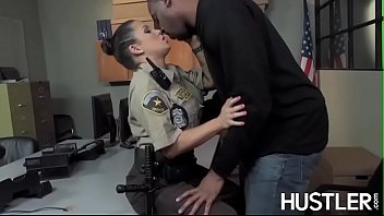 policewoman sunny leone 4k charity bangs facialized in office interracial