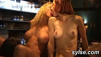 anal gangbang for 3 xxxxporn milfs maids in the pub