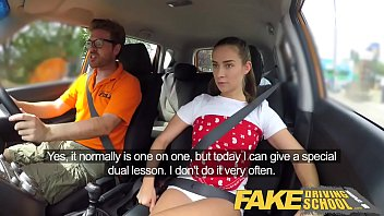 fake sxe www driving school horny learners dirty secret suck and fuck session