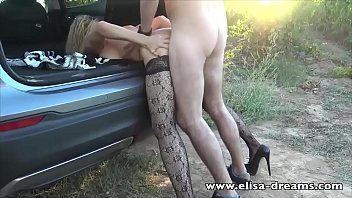 hotwife gets fucked by a xxx viode young guy outdoors