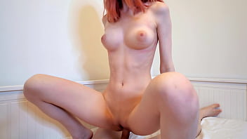 hot indian gilma com redhead girl swallows cum after hard fuck - cum in mouth