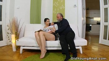 irene is girl and boy have sex craving to have anal sex with old man
