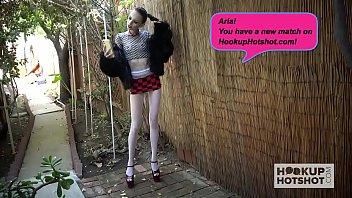 skinny sxe video teen slut aria haze gets pounded again by hookup hotshot