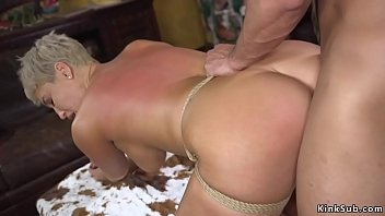 busty ixxx com indian milf in bondage banged and cummed