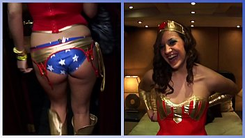 girls gone wild - hot brunette in sex photos sexy superhero cosplay plays with her wet pussy